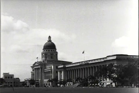 Singapore and Malaysia in 1949 Footage