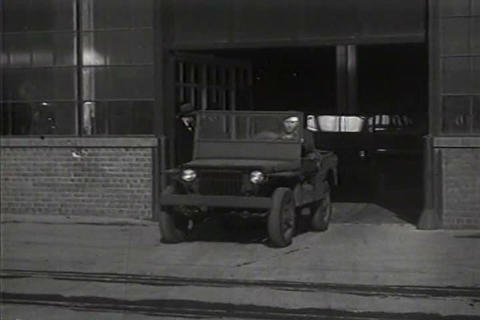 The jeep is introduced by Ford to the army in 1941 Live Action