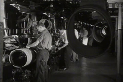 Rubber manufacturing in 1941 Live Action