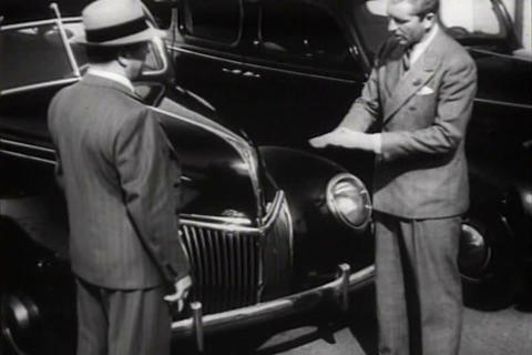 The Mercury and other Ford cars are introduced in  Footage