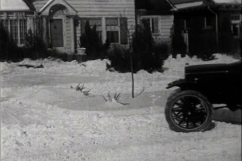 Early shots of the automobile in the 1920s Footage