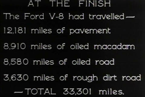 Cars stop in for service every 5,000 miles in 1932 Footage