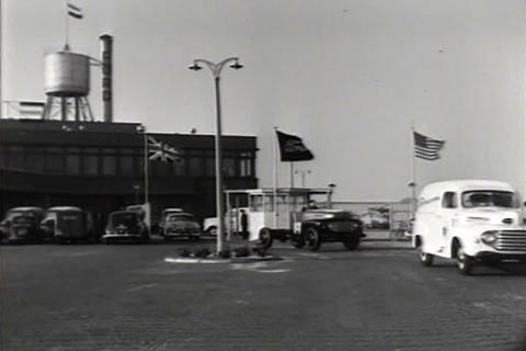 Very nice conditions in the Ford factory in Amster Footage