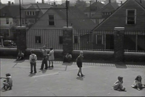 A summer trade school opens in 1939 Footage