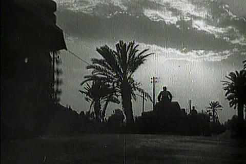 Captured Italian war film from 1941 shows Italian  Live Action