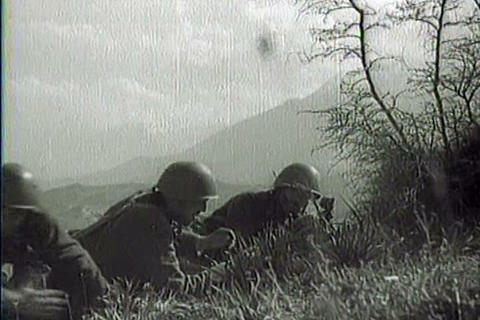 Captured Italian war film from 1941 shows Italian  Footage