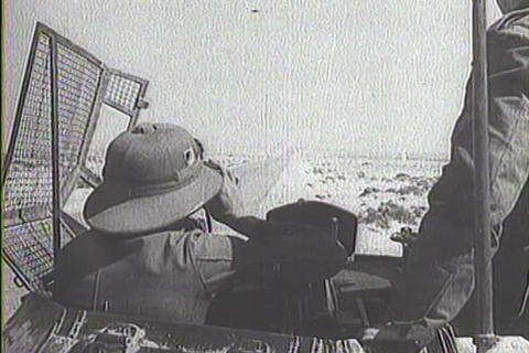 Captured Italian war film from 1941 shows the Dema Footage