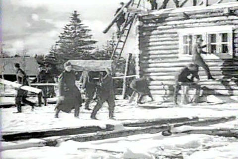 Captured Italian war film from 1941 shows troops f Footage