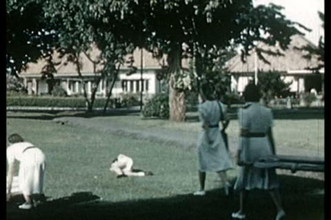Colonial life in Java, Indonesia in the 1930s Live Action