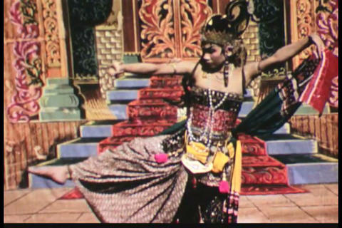 Balinese dance and culture in the 1950s Footage