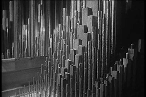 How Sound Works In The 1950s stock footage