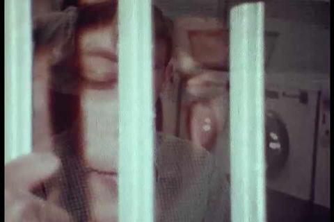 Sonny Bono talks to kids about marijuana in the 19 Stock Video Footage