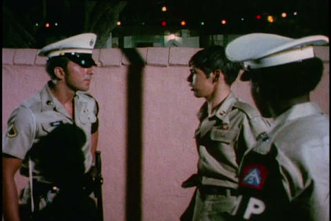 A military police training film teaching ways to i, Live Action