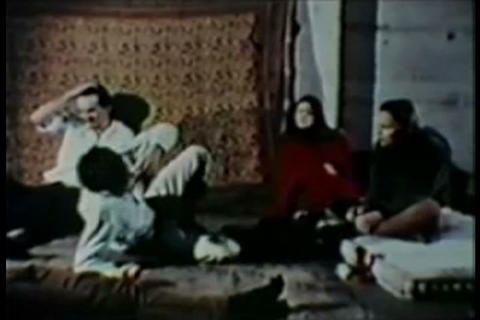 People have bad LSD trips in the 1960s Footage