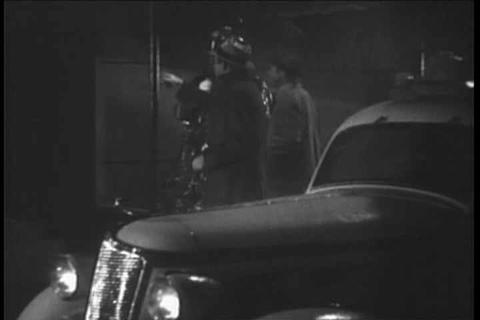 Generic Detective Movie Scenes From The 1930s stock footage