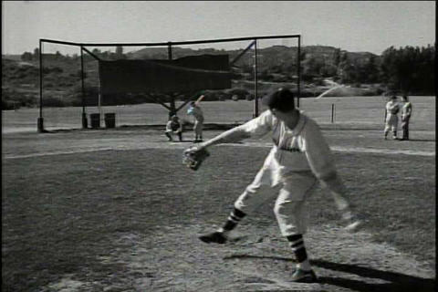 UCLA Football And Sports Events In 1948 stock footage