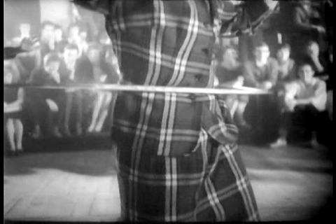 Polish People Are Crazy For Hula Hooping In 1958 stock footage