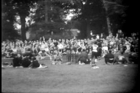 Track and Field championships in 1958 Live Action