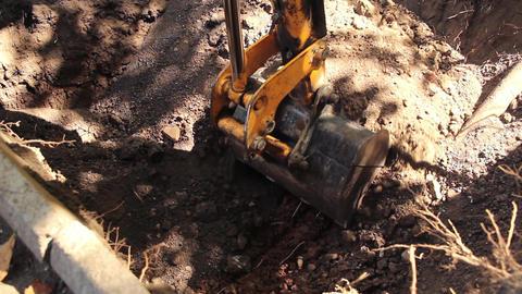 excavator Animation