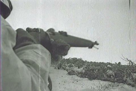 Captured Italian war film from 1942 shows Italians Live Action