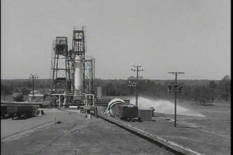 ICBM missiles are built and tested in the 1950s Live Action