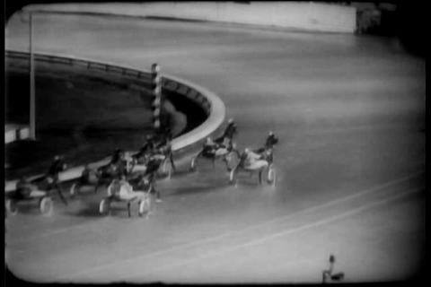 Harness racing in 1959 Footage