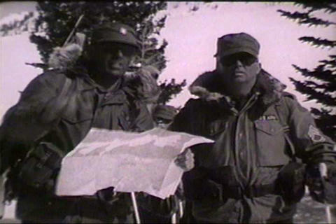 A military film about avalanche dangers Live Action