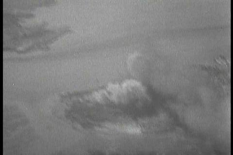 Silent footage of B 29 raids during the Korean War Footage