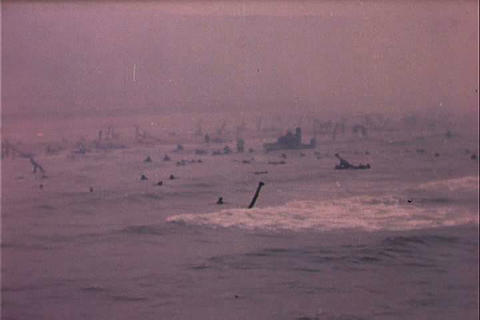 The Coast Guard contributes to World War Two Footage