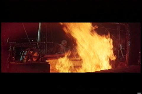 A fire breaks out aboard a ship in the 1950s and t Live Action