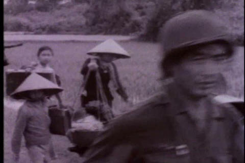 Footage of Korean troops in Vietnam in 1966 Live Action