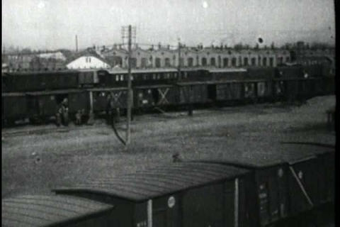 Scenes along the Trans Siberian Railroad in 1918 Live Action