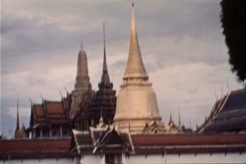 Home movies from the 1930s of Thailand and Cambodi Footage