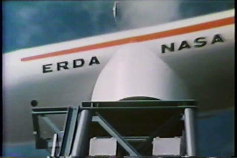 Wind energy sources are investigated in the 1970s Footage