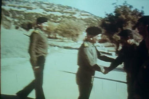 King Faisal of Saudi Arabia visits Jordan in 1980 Live Action