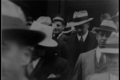 Al Capone in 1931 Live Action