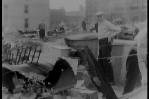 The slums of Chicago in 1931 Footage