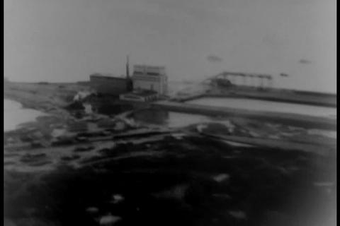 Fort Churchill, Ontario port is opened in 1931 Footage