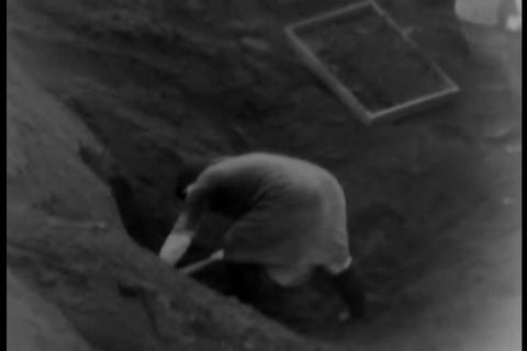 Poor people in Gary Indiana forage in a coke dump  Footage
