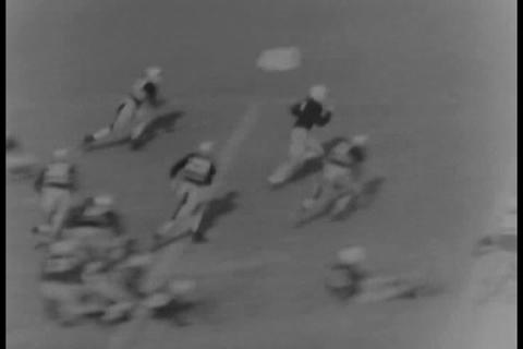 Yale Football Game Of 1931 stock footage