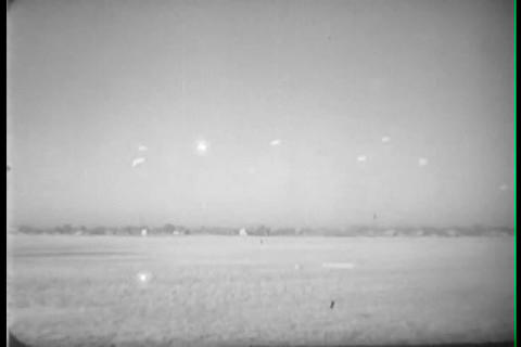Army shows how air infantry and paratroopers coope Footage