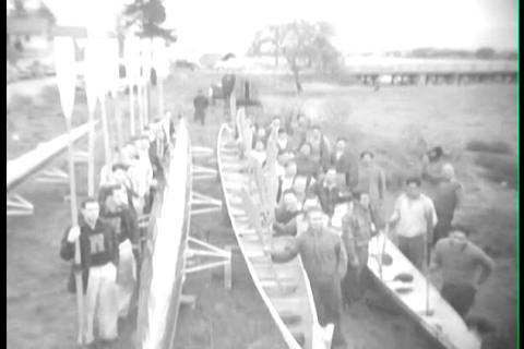 The University of Washington rowing team, 1930s, Live Action