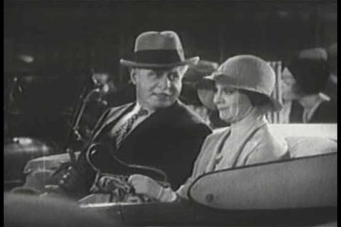 New York traffic jams in 1930 Footage