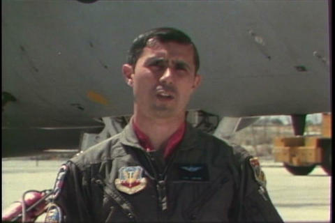 Air force training film teaches F15 jet pilots how Live Action