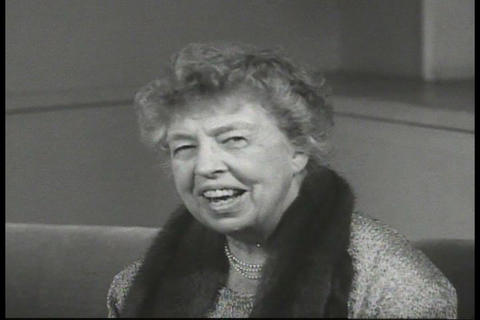 Eleanor Roosevelt speaks about human rights Live Action