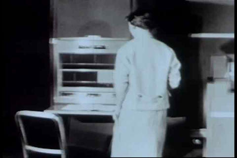 A Montage Of Early Computers From The 1960s stock footage