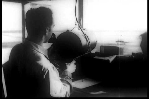 A 1940s film about the importance of electronic tu Footage