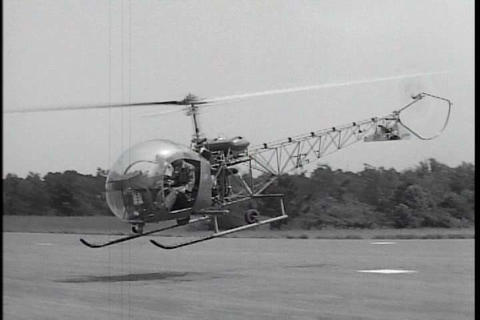 Helicopter pilot training at Ft. Rucker, Alabama i Live Action