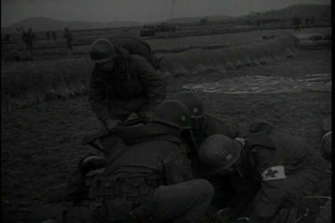 Field medical units in Korean in 1950 Live Action