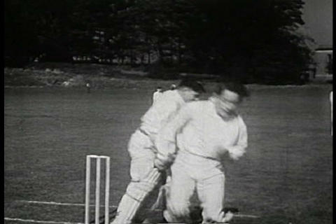 A film about how English children live in 1949 Footage